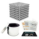 cheap Magnet Toys-512 pcs 5mm Magnet Toy Magnetic Balls Building Blocks Super Strong Rare-Earth Magnets Neodymium Magnet Magnetic Stress and Anxiety Relief Office Desk Toys Relieves ADD, ADHD, Anxiety, Autism Novelty
