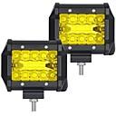 ieftine Lumini de Ceață Mașină-OTOLAMPARA 2pcs Mașină Becuri 60 W SMD 3030 6000 lm 20 LED Bec Muncă Pentru