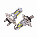 cheap Car Fog Lights-2pcs H7 Car Light Bulbs 50W High Performance LED 5000lm Headlamp