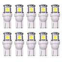 abordables Luces Interiores de Coche-SO.K 10pcs T10 Coche Bombillas 5 W 160 lm LED Luces interiores