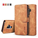 economico Make up e cura delle unghie-Custodia Per Samsung Galaxy S9 Plus / S8 Plus A portafoglio / Porta-carte di credito / Con supporto Integrale Tinta unita Resistente pelle sintetica per S9 / S9 Plus / S8 Plus