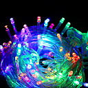 cheap LED String Lights-10m String Lights 100 LEDs Multi Color Decorative 220-240 V 1 set
