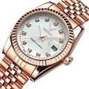 cheap iPhone Cases-Women's Luxury Watches Wrist Watch Diamond Watch Japanese Quartz Stainless Steel Silver / Rose Gold 30 m Water Resistant / Waterproof Calendar / date / day Chronograph Analog Ladies Bangle Elegant -