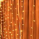 tanie Taśmy świetlne LED-3 M Łańcuchy świetlne 300 Diody LED Ciepła biel Dekoracyjna 220-240 V 1 zestaw