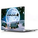 رخيصةأون غلاف ماك بوك اير 13 بوصة-حالة macbook النفط اللوحة الكرتون / عيد الميلاد pvc للهواء برو الشبكية 11 12 13 15 محمول حالة الغطاء عن macbook new pro 13.3 15 بوصة مع لمسة بار