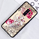 cheap Galaxy S Series Cases / Covers-Case For Samsung Galaxy S9 Plus / S9 Translucent / Pattern Back Cover Flower Hard PC for S9 / S9 Plus / S8 Plus