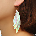 cheap Earrings-Women's Layered Long Drop Earrings - Leaf Ladies Artistic Unique Design Fashion Jewelry Rainbow For Daily Street 1 Pair