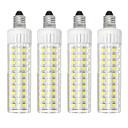 hesapli Dekorasyon Etiketleri-4adet 8.5 W 1105 lm E11 LED Mısır Işıklar T 125 LED Boncuklar SMD 2835 Kısılabilir Sıcak Beyaz / Serin Beyaz 220 V