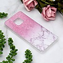 cheap Cases / Covers for Huawei-Case For Huawei Huawei Mate 20 Lite / Huawei Mate 20 Pro Transparent / Pattern Back Cover Marble Soft TPU for Huawei Mate 20 lite / Huawei Mate 20 pro / Huawei Mate 20