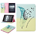 cheap iPad  Cases / Covers-Case For Apple iPad Pro 12.9'' Card Holder / Shockproof Full Body Cases Feathers Hard PU Leather for iPad Pro 12.9''