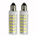 cheap LED Corn Lights-2pcs 4.5 W 450 lm E11 LED Corn Lights T 76 LED Beads SMD 2835 Dimmable Warm White / Cold White 110 V