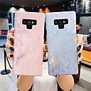 baratos Galaxy Note 9 Cases / Tampas-Capinha Para Samsung Galaxy Note 9 / NNote 8 Brilha no Escuro / Áspero Capa traseira Mármore Rígida PC para Note 9 / Note 8