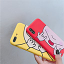 abordables Coques d'iPhone-Coque Pour Apple iPhone XR / iPhone XS Max Dépoli / Motif Coque Bande dessinée Flexible TPU pour iPhone XS / iPhone XR / iPhone XS Max