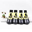 voordelige Hondenkleding & -accessoires-Katten Hond Schoenen & Laarzen Casual / Dagelijks Waterdicht Cartoon Geel Voor huisdieren