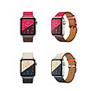 voordelige Apple Watch-bandjes-Horlogeband voor Apple Watch Series 4 / Apple Watch Series 4/3/2/1 Apple Klassieke gesp Echt leer Polsband