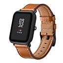 cheap Watch Bands for Garmin-Watch Band for Huami Amazfit Bip Younth Watch Xiaomi Sport Band / Classic Buckle Genuine Leather Wrist Strap