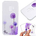 cheap Galaxy S Series Cases / Covers-Case For Samsung Galaxy S9 Plus / S8 Transparent / Pattern Back Cover Dandelion Soft TPU for S9 / S9 Plus / S8 Plus