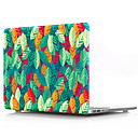 "billige Laptopetuier-MacBook Case with Protectors Blomsternål i krystall PVC til MacBook 12'' / Ny MacBook Pro 15"" / New MacBook Air 13"" 2018"