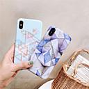 저렴한 아이폰 케이스-케이스 제품 Apple iPhone XR / iPhone XS Max IMD 뒷면 커버 마블 소프트 TPU 용 iPhone XS / iPhone XR / iPhone XS Max