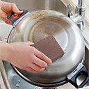 رخيصةأون فرشاة اليد و ممسحة-مطبخ معدات تنظيف اسفنج / المواد الخاصة قطع و فراشي التنظيف المطبخ الإبداعية أداة 1PC
