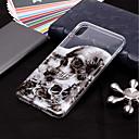 ieftine Proiectoare LED-Maska Pentru Apple iPhone XS / iPhone XR / iPhone XS Max Transparent / Model Capac Spate Cranii Moale TPU