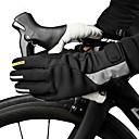 billige Mac-kabler-CoolChange Cykelhandsker Mountain Bike Handsker Hold Varm Vindtæt Anti-glide Beskyttende Aktivitets- / Sportshandsker Vinter Bjerg Cykling Sort for Børne Ski Racing