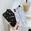 رخيصةأون أغطية أيفون-غطاء من أجل Apple iPhone XS / iPhone XR / iPhone XS Max IMD / نموذج / اصنع بنفسك غطاء خلفي حجر كريم ناعم TPU