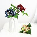 preiswerte Künstliche Blumen-Künstliche Blumen 3 Ast Klassisch Stilvoll Europäisch Pflanzen Tisch-Blumen