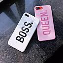 رخيصةأون واقيات شاشات أيفون-غطاء من أجل Apple iPhone XS / iPhone XR / iPhone XS Max نموذج غطاء خلفي جملة / كلمة / حجر كريم ناعم TPU