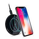 cheap Smart Lights-Original ZMI Xiaomi QC 3.0 Wireless Charger iphone X / XR / XS Max / 8 Plus Note 8 9 S9 Nokia NEXUS 2.5D Glass Surface 10W QI Wireless Charger