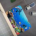 Χαμηλού Κόστους Αξεσουάρ Wii-1pc Κινούμενα σχέδια / Μοντέρνα Πατάκια Μπάνιου Coral Velve Νεωτερισμός / Ζώο 5mm Μπάνιο Χαριτωμένο / Δημιουργικό / Αντιολισθητικό
