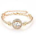 billige Mode Halskæde-Dame Klassisk Armbånd Stilfuld Elegant Armbånd Smykker Guld / Sølv / Rose Guld Til Daglig Stævnemøde Valentine