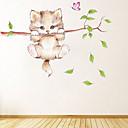 halpa Sisustustarrat-Koriste-seinätarrat - Animal Wall Tarrat Eläimet Olohuone / Makuuhuone / Keittiö