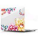"""abordables Pochettes d'Ordinateur-MacBook Etuis Fleur PVC pour MacBook Pro 13 pouces avec affichage Retina / MacBook Air 13 pouces / New MacBook Air 13"""" 2018"""