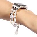 رخيصةأون أساور ساعات FitBit-حزام إلى Fitbit Charge 2 فيتبيت تصميم المجوهرات جلد طبيعي شريط المعصم