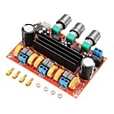 cheap Modules-XH-M139 2.1 channel digital power amplifier board 12V-24V wide voltage TPA3116D2 2*50W