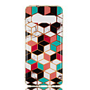 cheap Galaxy S Series Cases / Covers-Case For Samsung Galaxy Galaxy S10 Plus / Galaxy S10 E IMD / Pattern Back Cover Geometric Pattern / Marble Soft TPU for S9 / S9 Plus / S8 Plus