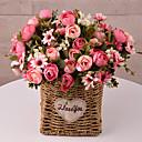 رخيصةأون أغطية أيفون-زهور اصطناعية 5 فرع كلاسيكي التقليدية / الكلاسيكية أسلوب بسيط Camellia أزهار الطاولة