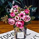 رخيصةأون أزهار اصطناعية-زهور اصطناعية 1 فرع فردي الحديث المعاصر الزفاف أزلية أزهار الطاولة