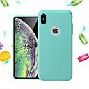 halpa Samsung suojakalvot-Etui Käyttötarkoitus Apple iPhone XS / iPhone XS Max Iskunkestävä / Ultraohut Takakuori Yhtenäinen Pehmeä TPU varten iPhone XS / iPhone XR / iPhone XS Max