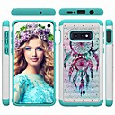 cheap Galaxy S Series Cases / Covers-Case For Samsung Galaxy Galaxy S10 / Galaxy S10 Plus / Galaxy S10 E Shockproof / Rhinestone / Pattern Back Cover Dream Catcher / Rhinestone Hard PC for S9 / S9 Plus / S8 Plus