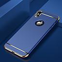رخيصةأون أغطية أيفون-غطاء من أجل Apple iPhone XS / iPhone XR / iPhone XS Max تصفيح / نحيف جداً / مثلج غطاء خلفي لون سادة قاسي الكمبيوتر الشخصي