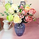 ieftine Machiaj & Îngrijire Unghii-Flori artificiale 1 ramură Clasic Modern contemporan European Trandafiri Florile veșnice Față de masă flori