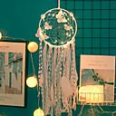رخيصةأون ديكور الحائط-قاد اليدوية حلم الماسكون أضواء ريشة زخارف الجدران