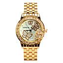 preiswerte Halsketten-Damen Quartz Uhr Freizeit Modisch Silber Gold Rotgold Legierung Quartz Gold Silber Rotgold Armbanduhren für den Alltag 30 m 1 Stück Analog Ein Jahr Batterielebensdauer