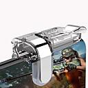 رخيصةأون إكسسوارات ألعاب الهواتف الذكية-ل l1r1 shooter تحكم fps لعبة الهاتف المحمول الألعاب الزناد النار زر مقبض k03 أكل الدجاج الأداة المساعدة