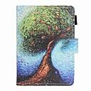 رخيصةأون أغطية-غطاء من أجل KOBO kobo clara HD حامل البطاقات / ضد الصدمات / نموذج غطاء كامل للجسم شجرة قاسي جلد PU