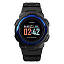 levne Pánské-SKMEI Pánské Vojenské hodinky Digitální Silikon Černá / Zelená 30 m Armáda Bluetooth Smart Digitální Outdoor Módní - Černá Zelená Modrá Jeden rok Životnost baterie