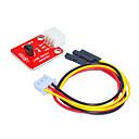 baratos Módulos-terminal branco da temperatura de lm35 (vermelho) com fio de 3pin dupont