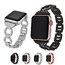 olcso Apple Watch tokok-Nézd Band mert Apple Watch Series 4/3/2/1 Apple Modern csat Fém / Rozsdamentes acél Csuklópánt